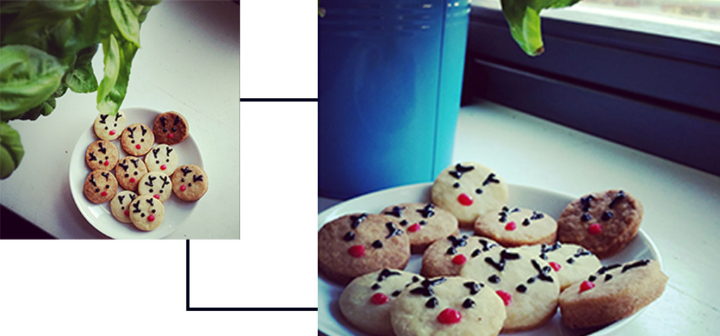 Rentier Cookie Rezept