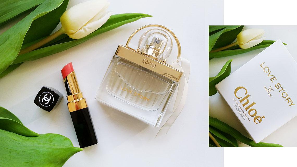 Chanel Lipstick und Chloe Parfum