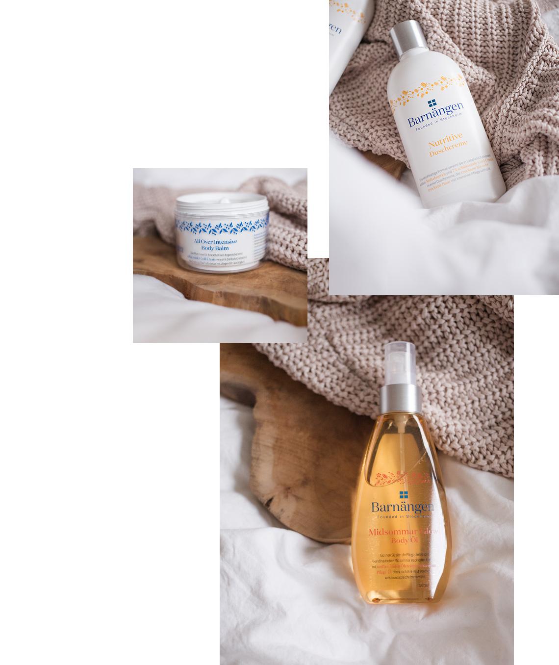 Hautpflege Produkte von Barnängen