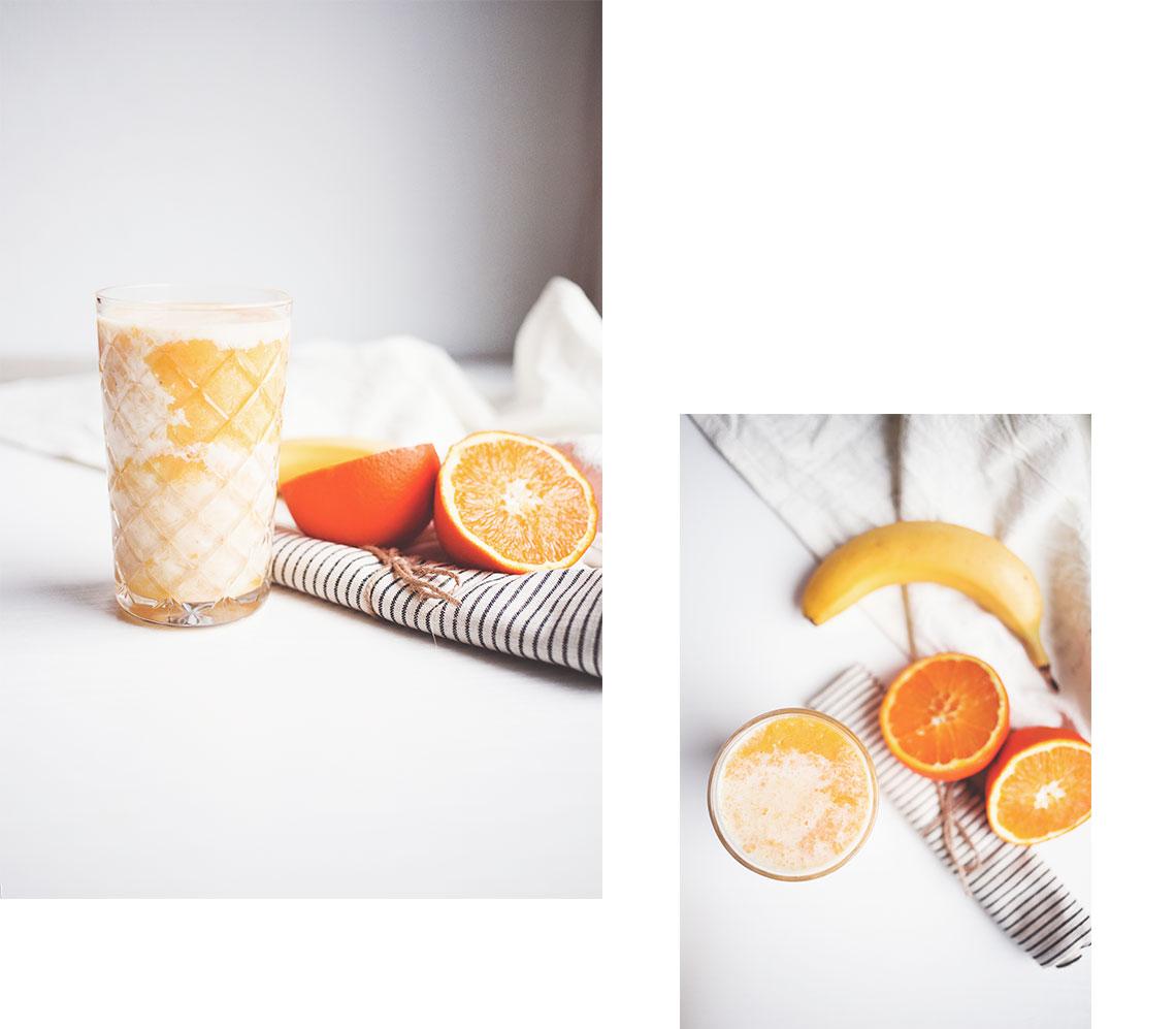 Orange Kokos Smoothie Rezept