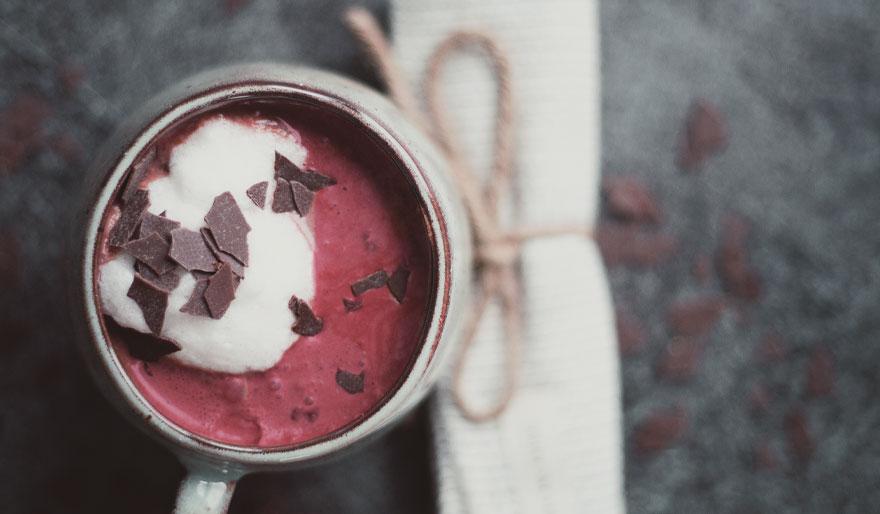 Das neue Trend Getränk: Hot Chocolate Red Velvet
