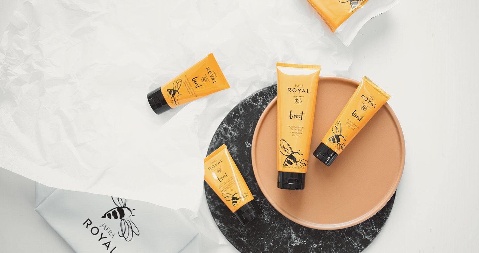 Die Hautpflege von Jafra Royal im Test