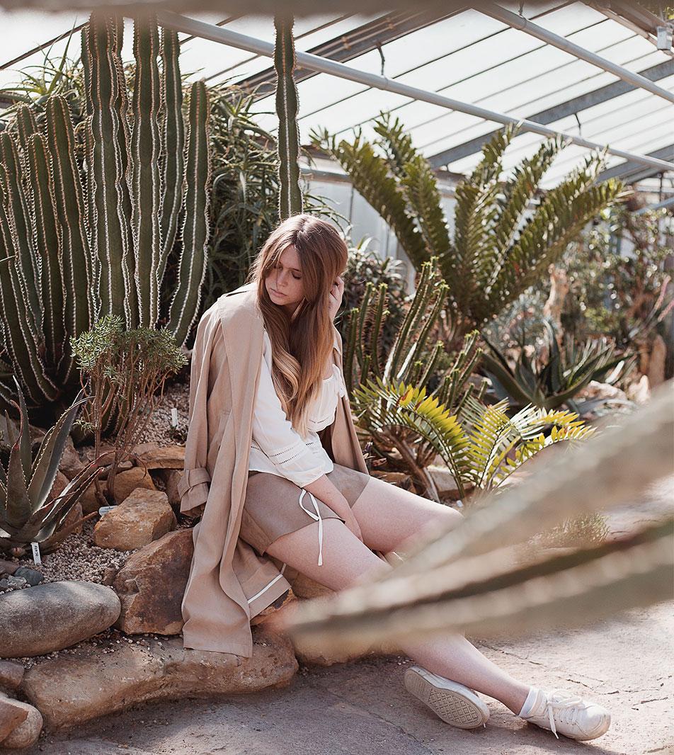 Outfit Inspirationen mit der Trendfarbe Camel